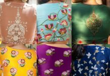 Hand embroidery blouse collection-Sayanti Ghosh-Featured
