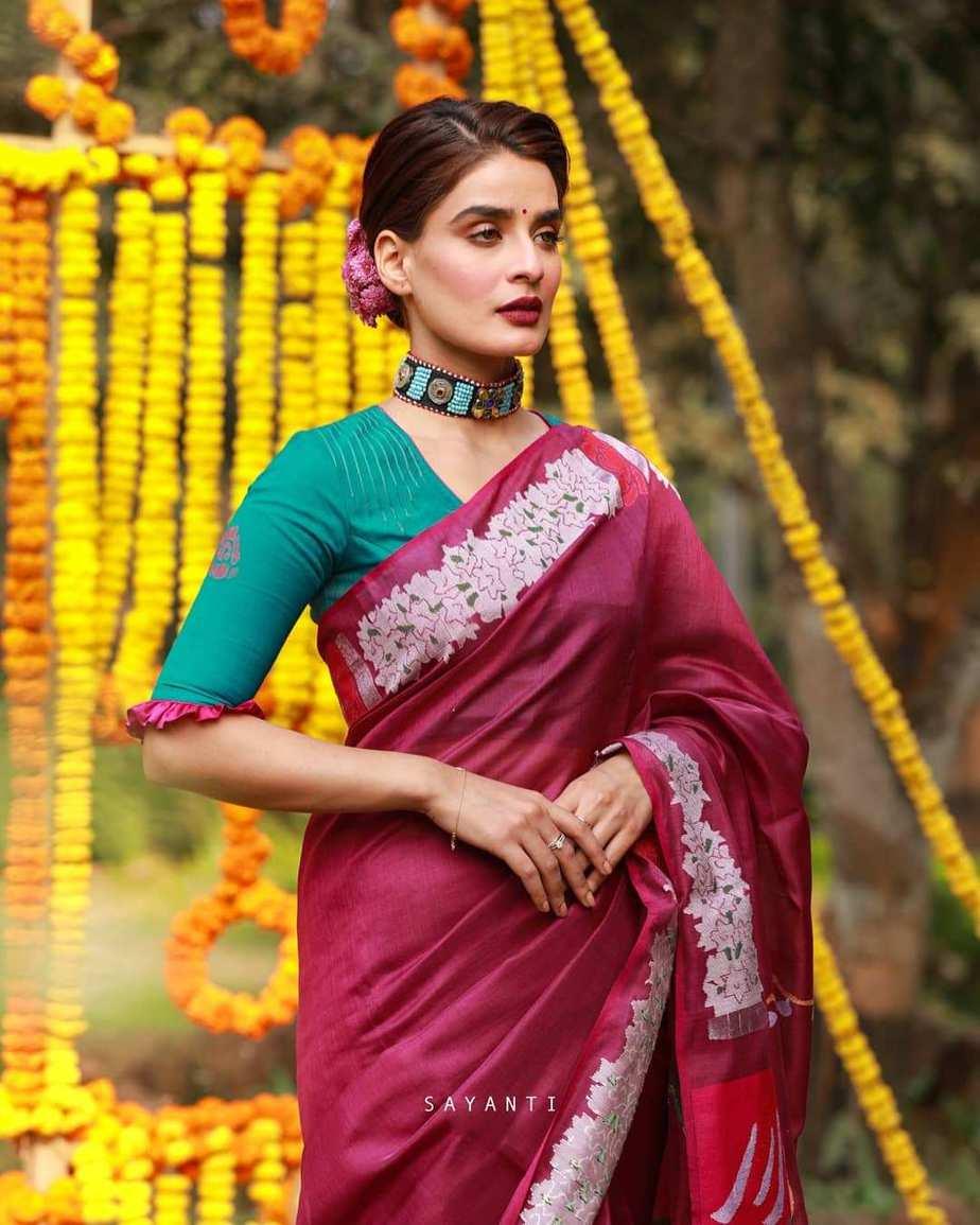 Mala badal art blouse-sayanti ghosh-2