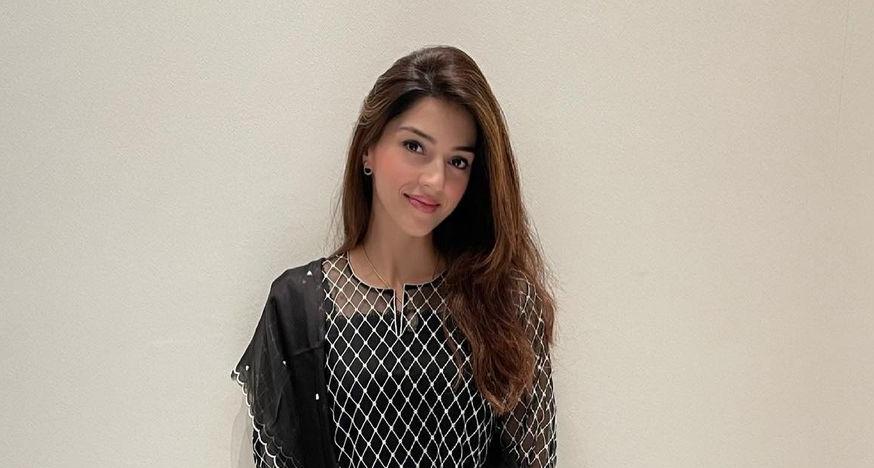 Mehreen Pirzada in black kurta set by Nada Tai-2
