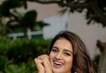 Nidhhi Agerwal in blush pink kurta set by Inaayat-2