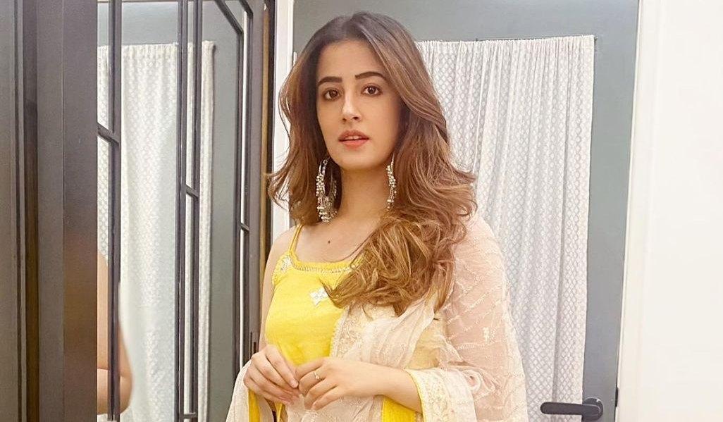 Nupur Sanon in yellow sharara set by Gopi Vaid-1