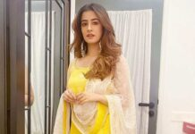 Nupur Sanon in yellow sharara set by Gopi Vaid