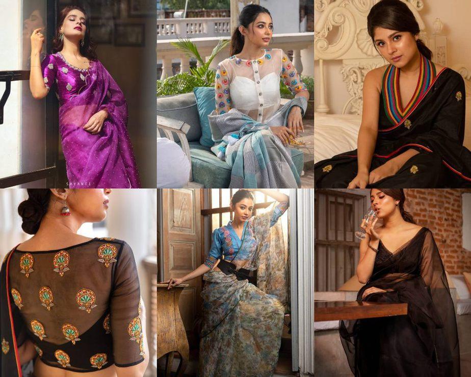 Party wear saree collection-Sayanti Ghosh