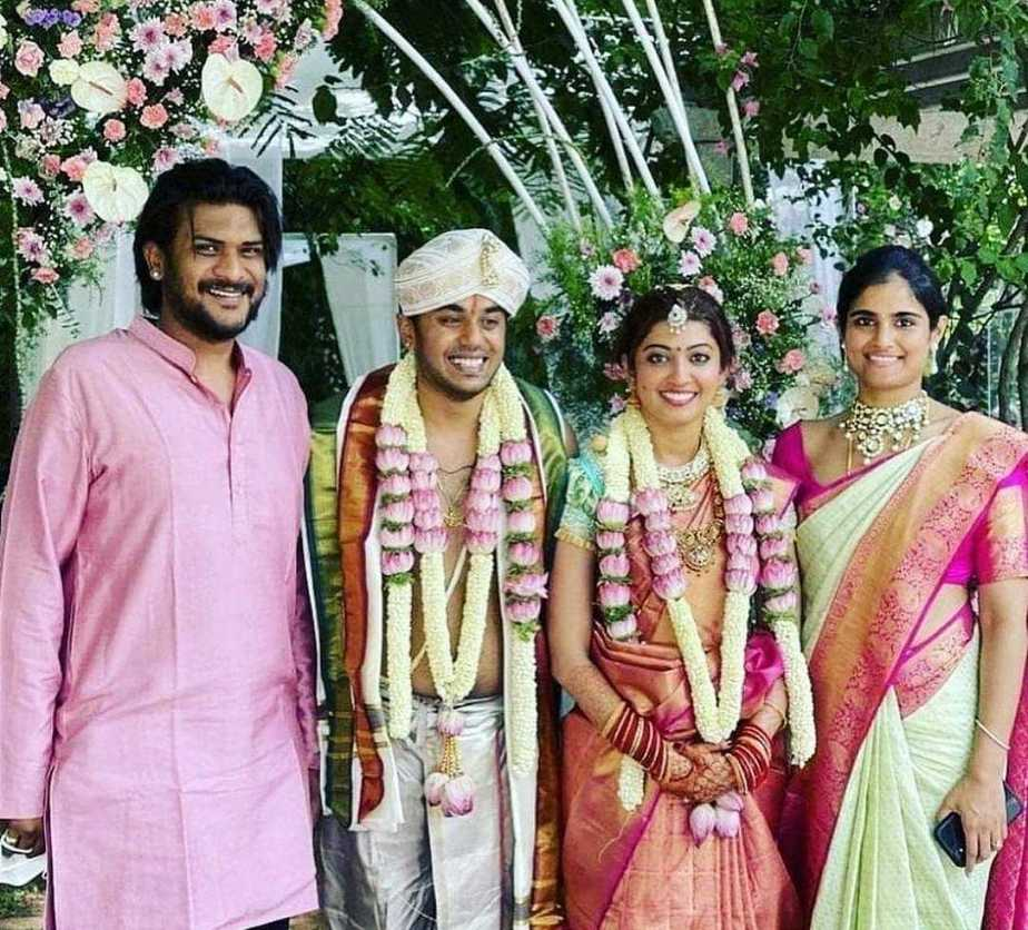 Pranitha subash weds Nitin Raju 1