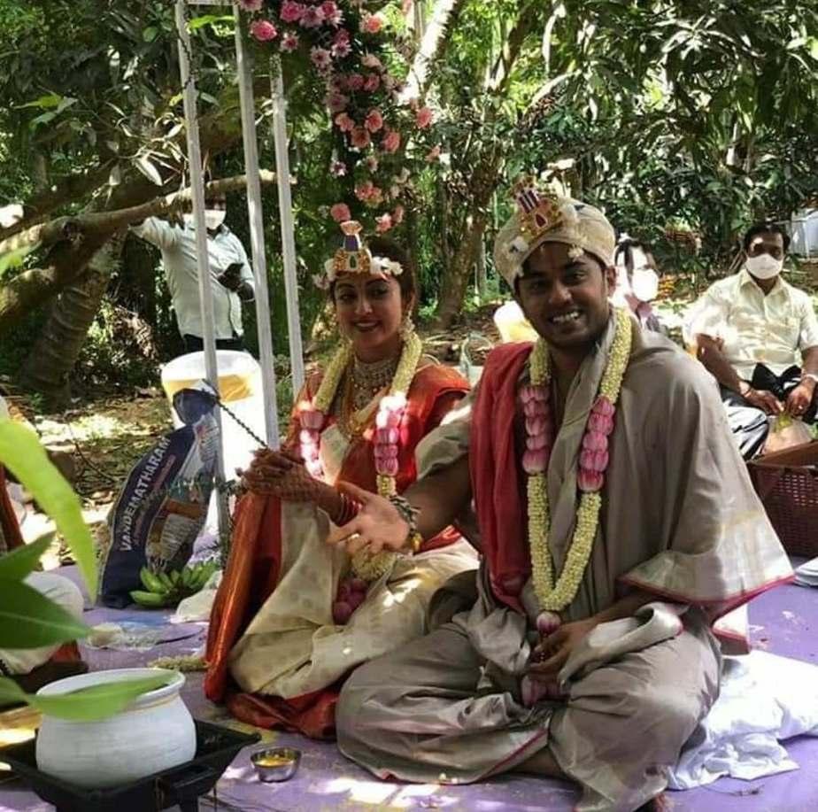Pranitha subash weds Nitin Raju 2