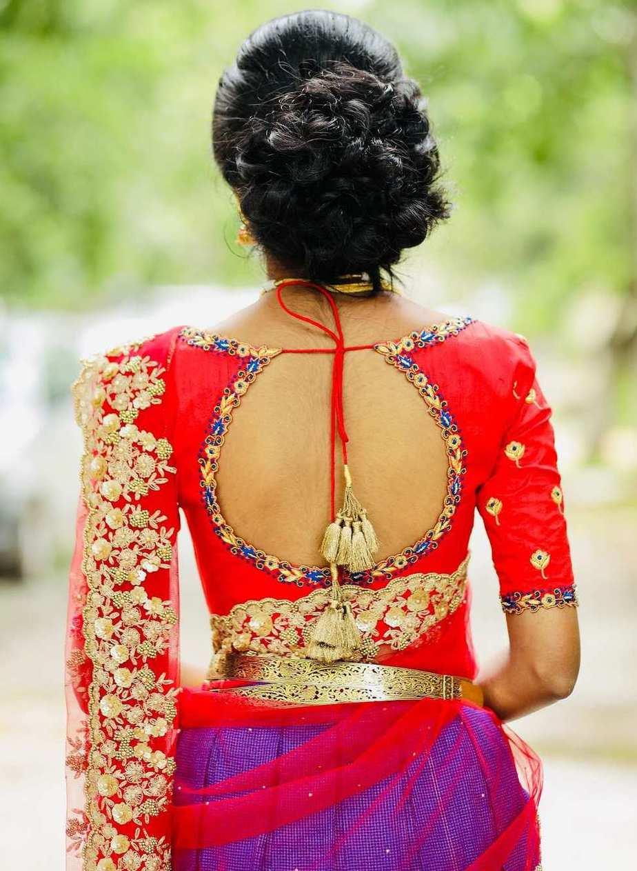 Red and purple-Sumaya Designer