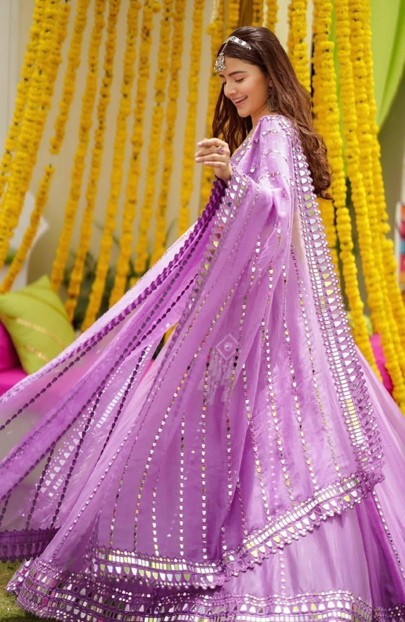 Rukshar Dhillon in purple lehenga for Vvani for sister's sangeet-1