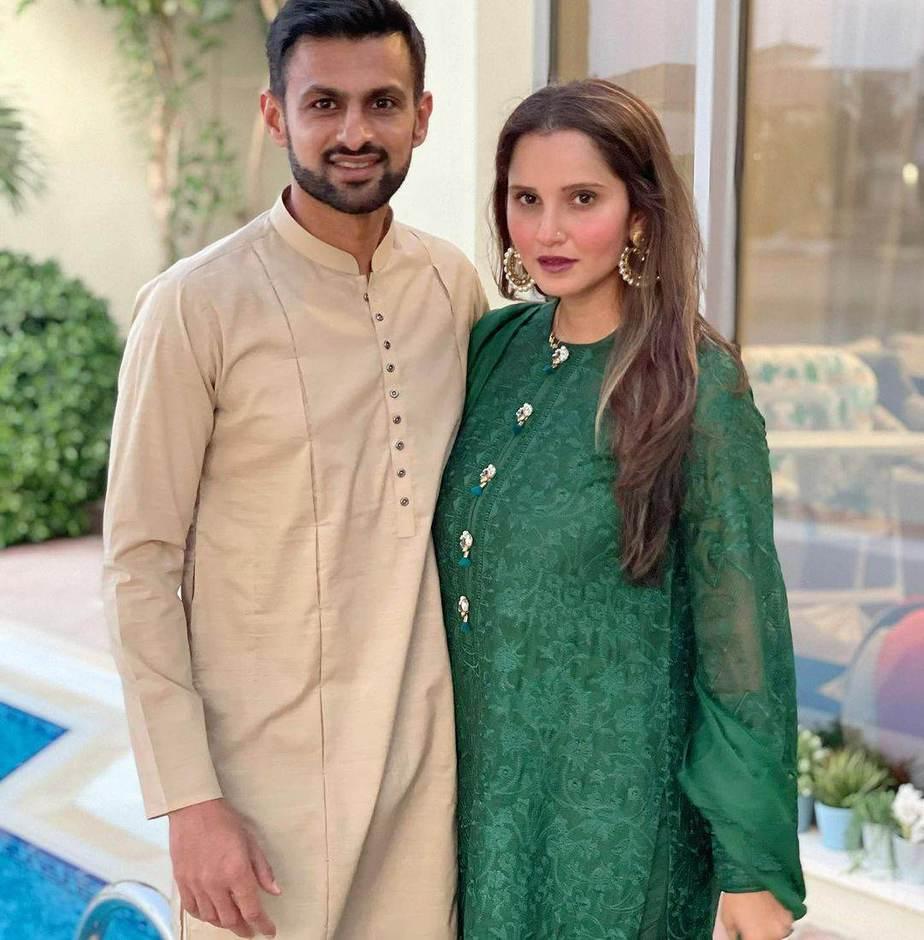 Sania Mirza in green kalidar by Nomi Ansari-4