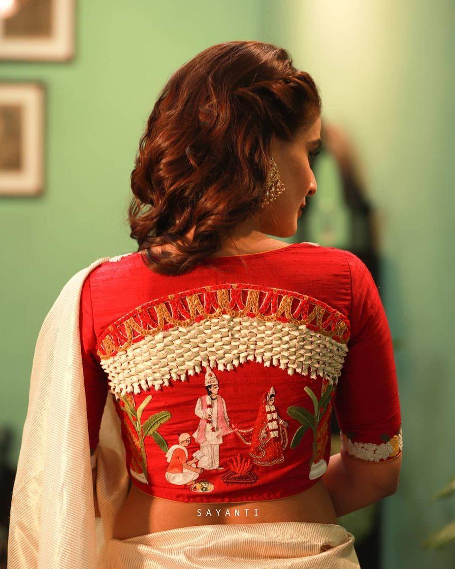 Saptapadi wedding blouse-Sayanti Ghosh-1