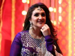 Sridevi Vijaykumar in Lekha Reddy designs designs lehenga for comedy stars-3