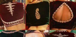 Velvet blouse collection-Sayanti Ghosh