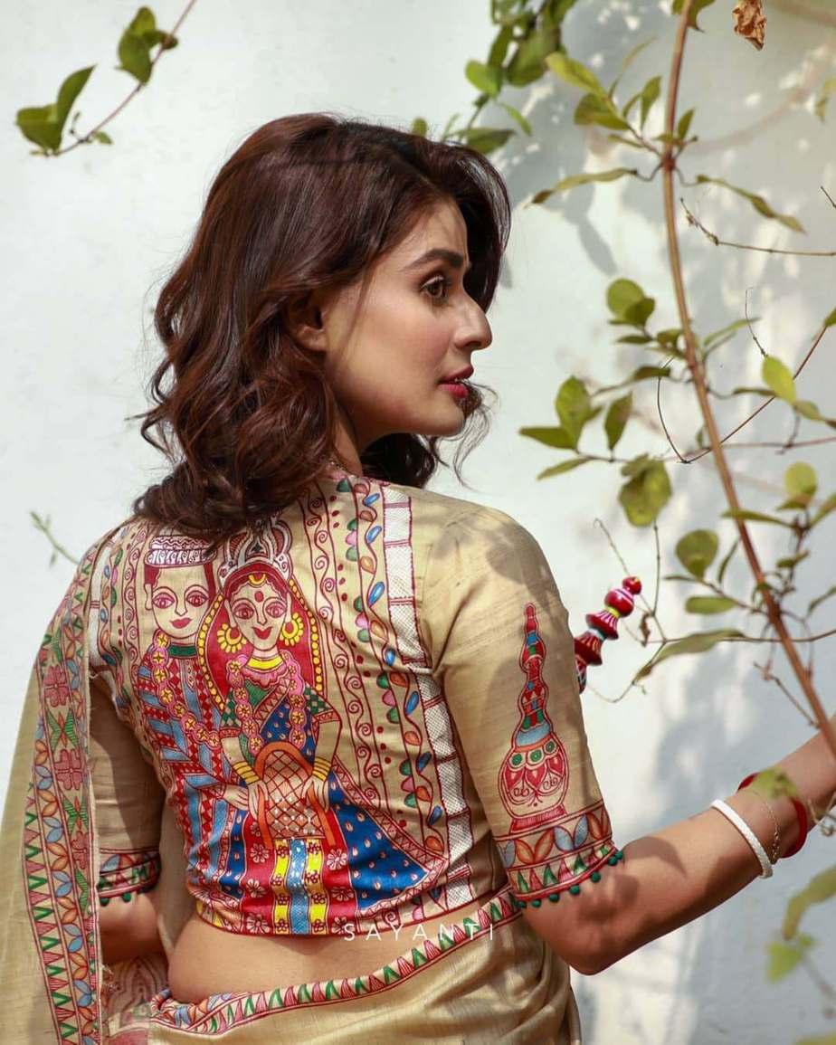 Wedding art blouse-Sayanti Ghosh-2
