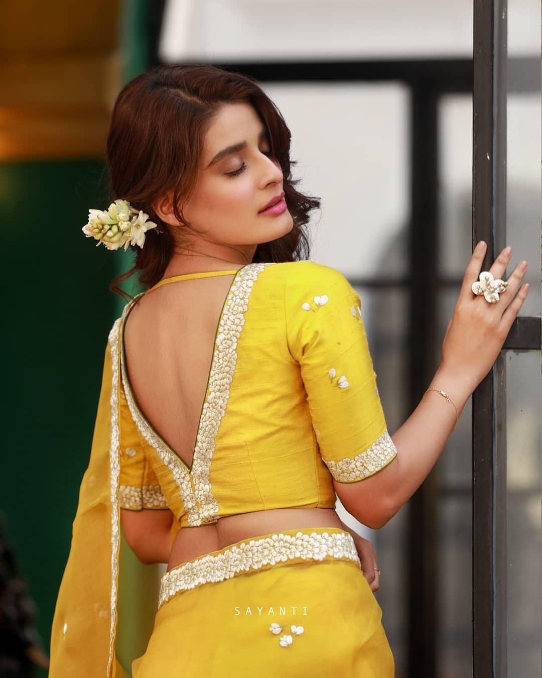 jasmine yellow blouse-Sayanti Ghosh-1
