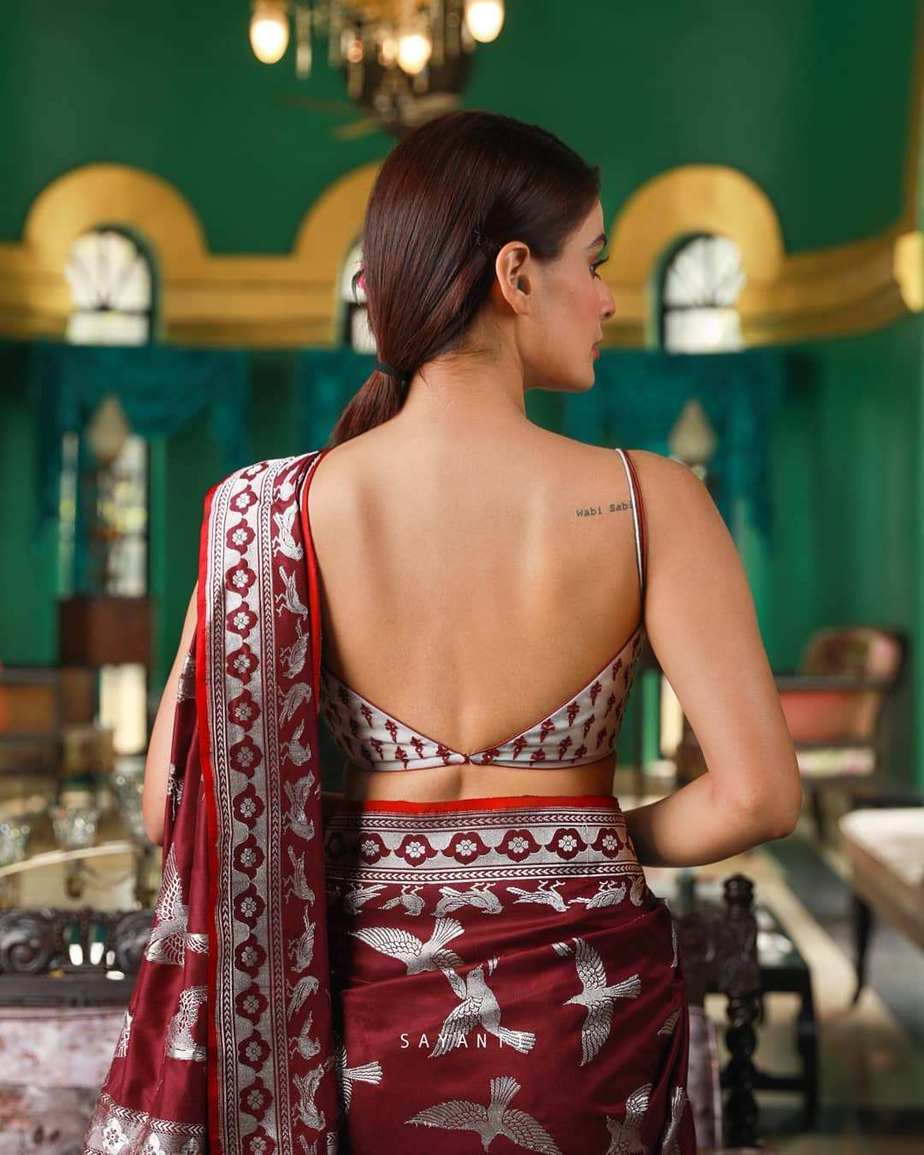 white embroidered bridal blouse-Sayanti ghosh-1
