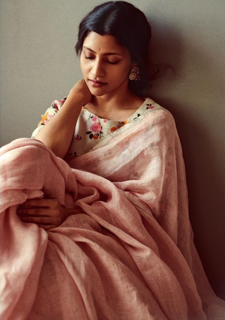 Konkona Sen Sharma in anavila saree for ajeeb dastans promotions-1