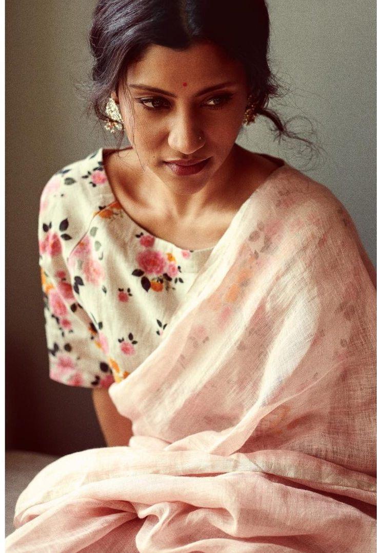 Konkona Sen Sharma in anavila saree for ajeeb dastans promotions-3