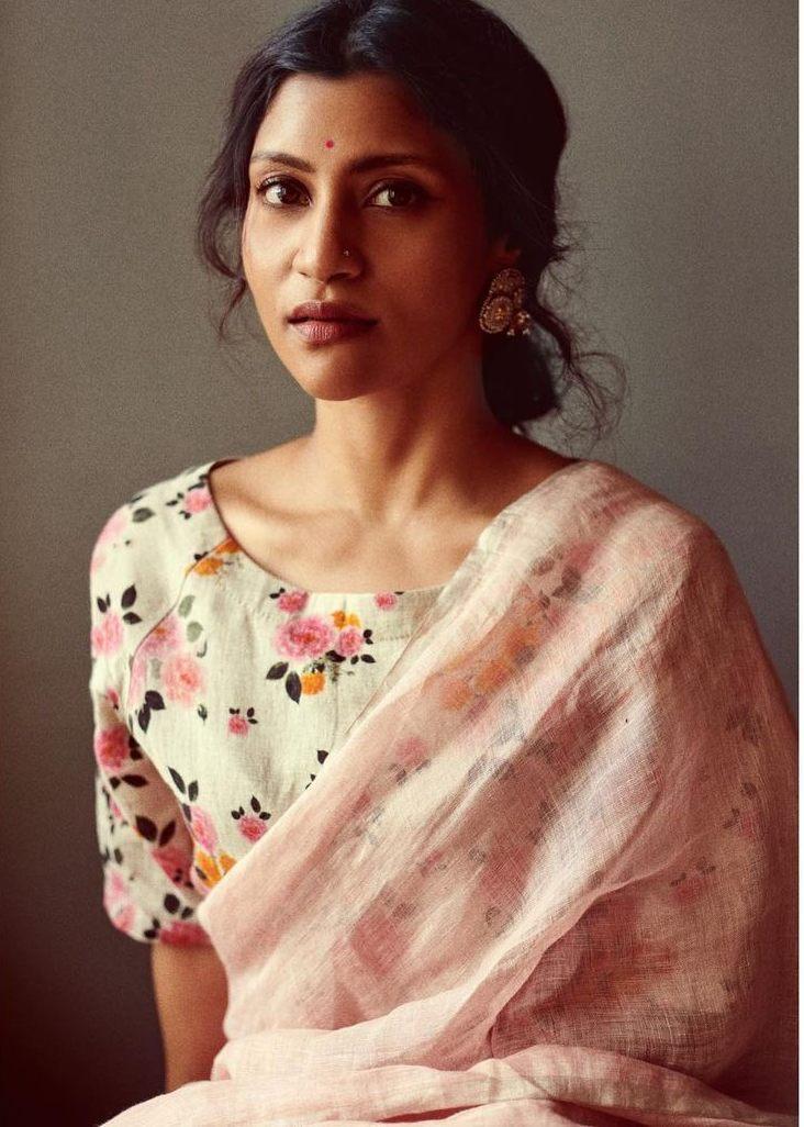 Konkona Sen Sharma in anavila saree for ajeeb dastans promotions-4