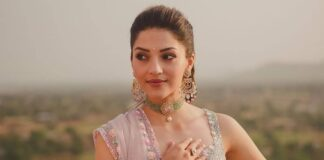 Mehreen pirzada in seema gujral for her post engagement shoot-2