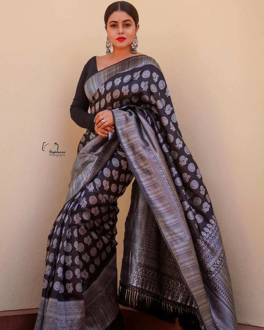 Poorna in black saree by dithya sai fashions for dhee kings-1