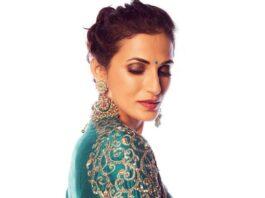 Shilpa Reddy in Shilpa reddy label saree