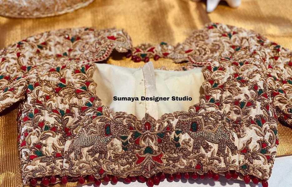 Sumaya Designer wedding blouses-1.1