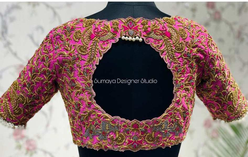 Sumaya Designer wedding blouses-10.1