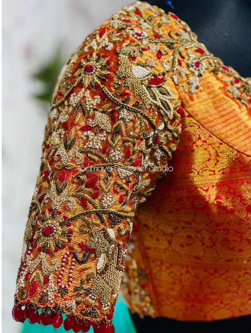 Sumaya Designer wedding blouses-11.1