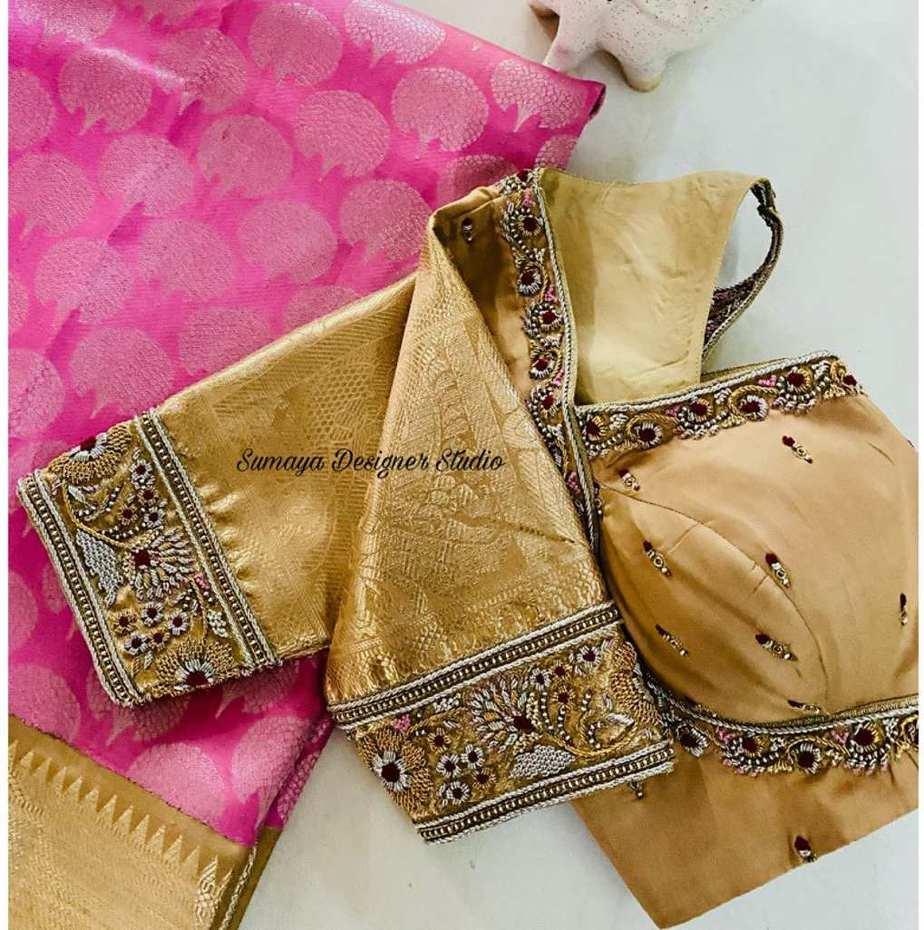 Sumaya Designer wedding blouses-12.1