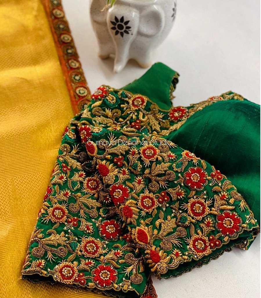 Sumaya Designer wedding blouses-13.1