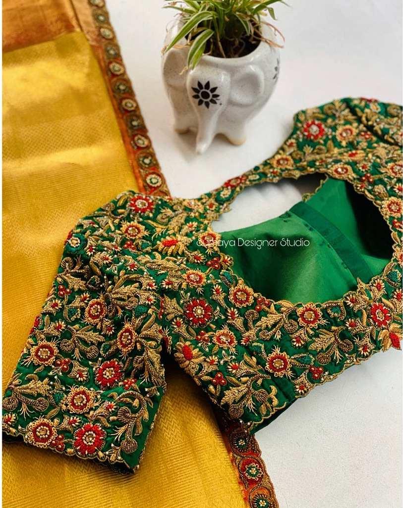 Sumaya Designer wedding blouses-13