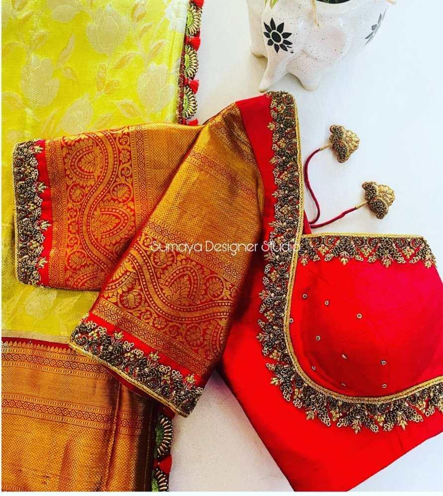 Sumaya Designer wedding blouses-14.1