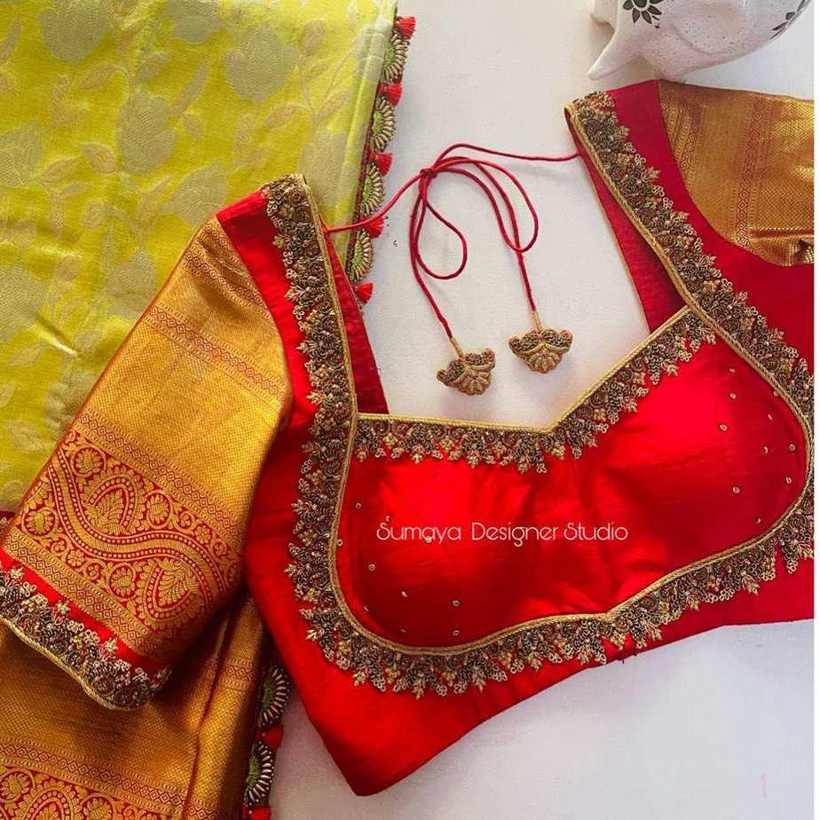Sumaya Designer wedding blouses-14