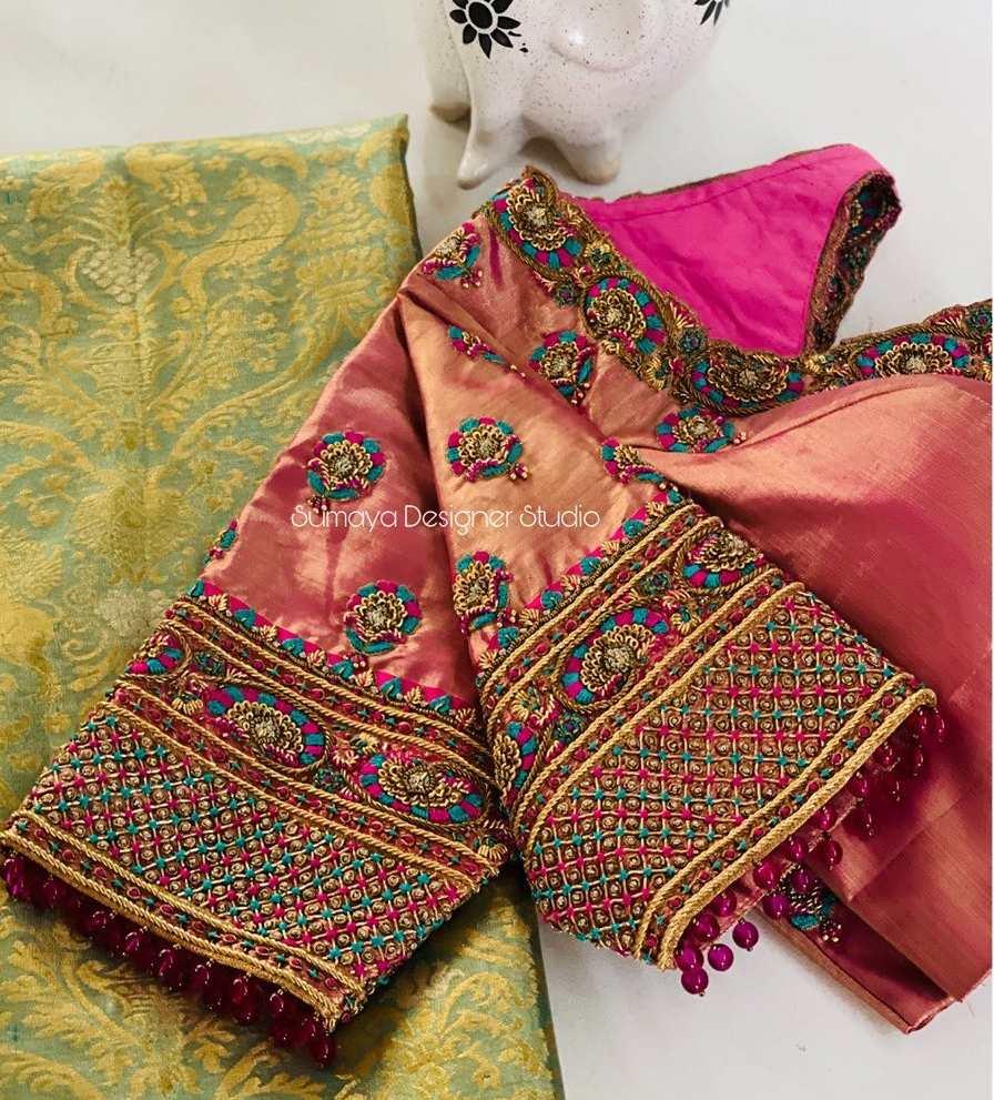Sumaya Designer wedding blouses-15.1