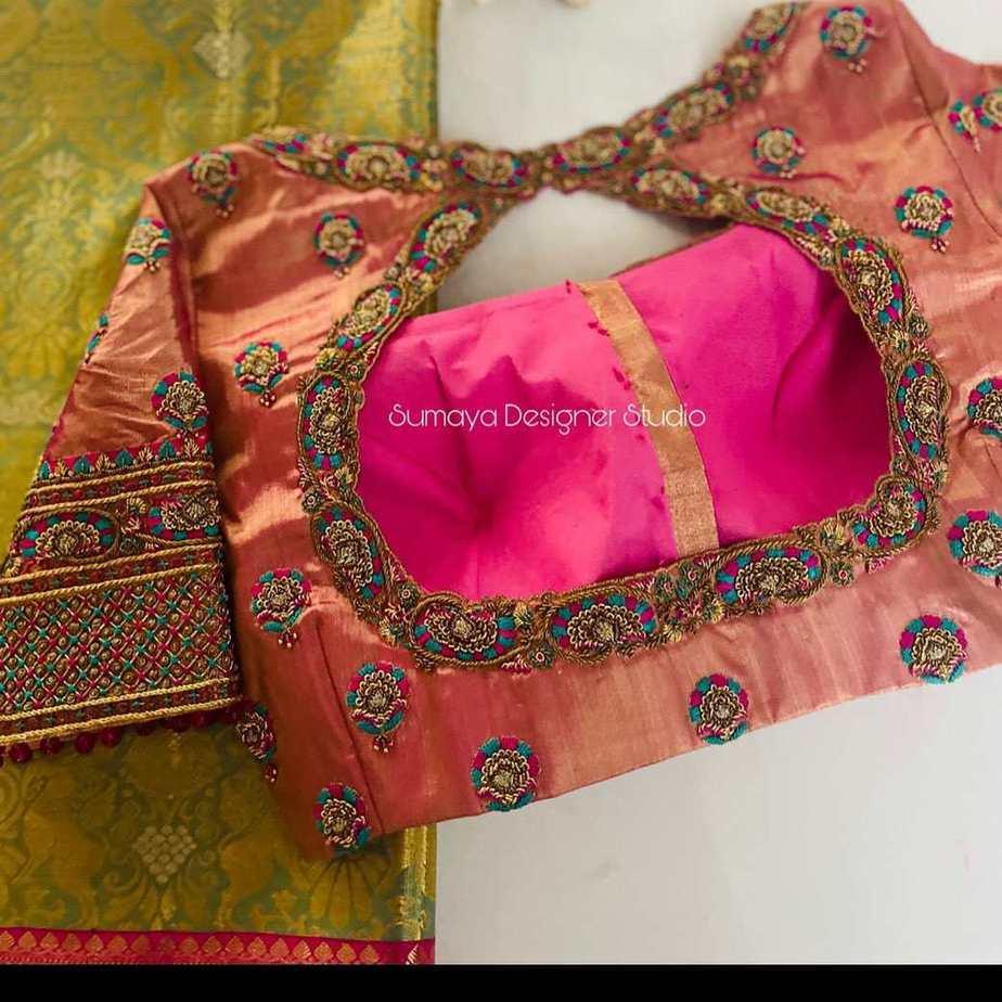 Sumaya Designer wedding blouses-15