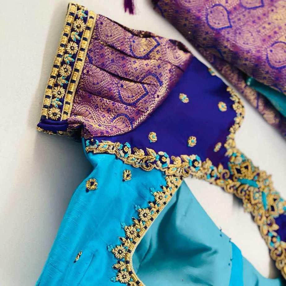 Sumaya Designer wedding blouses-2.1