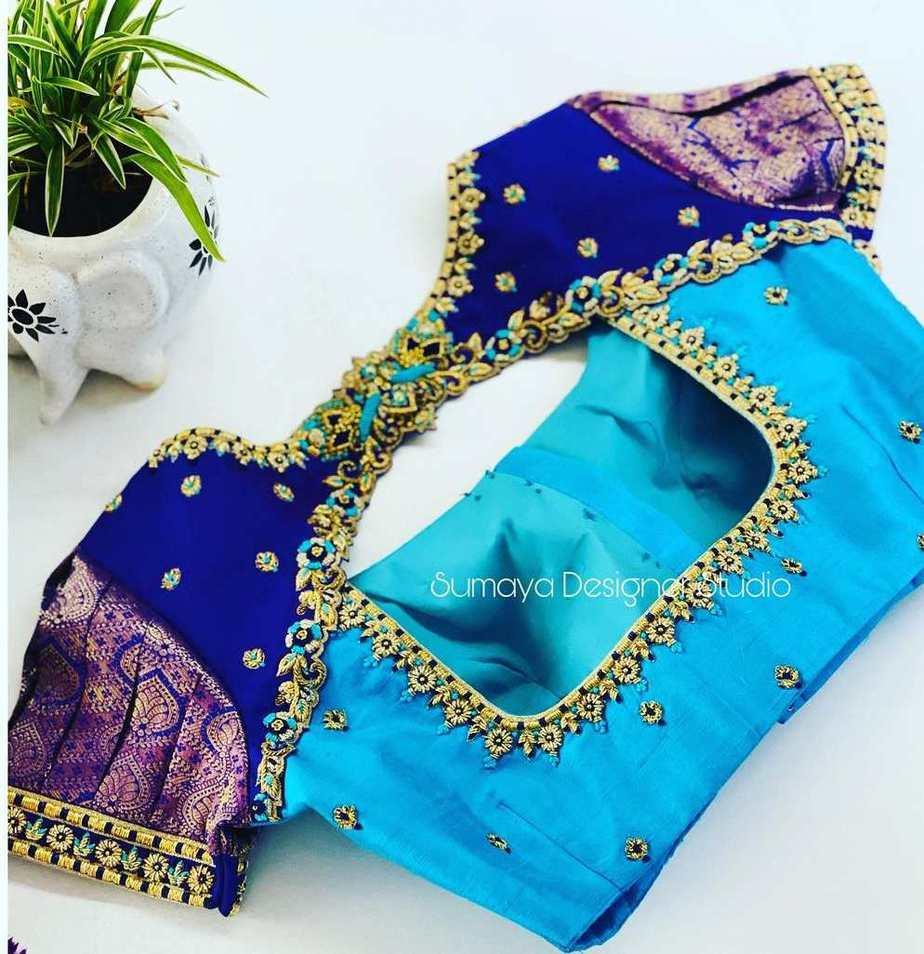 Sumaya Designer wedding blouses-2
