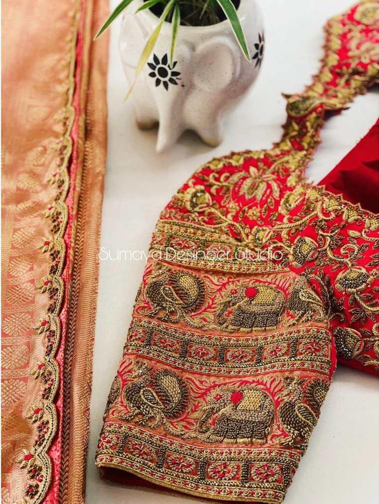 Sumaya Designer wedding blouses-3.1