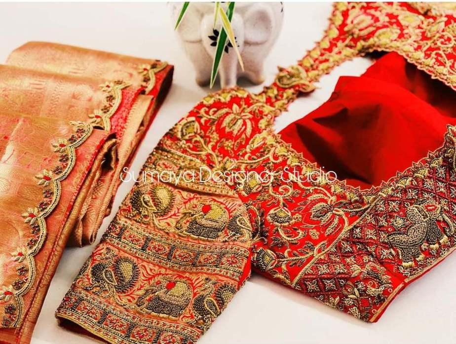 Sumaya Designer wedding blouses-3