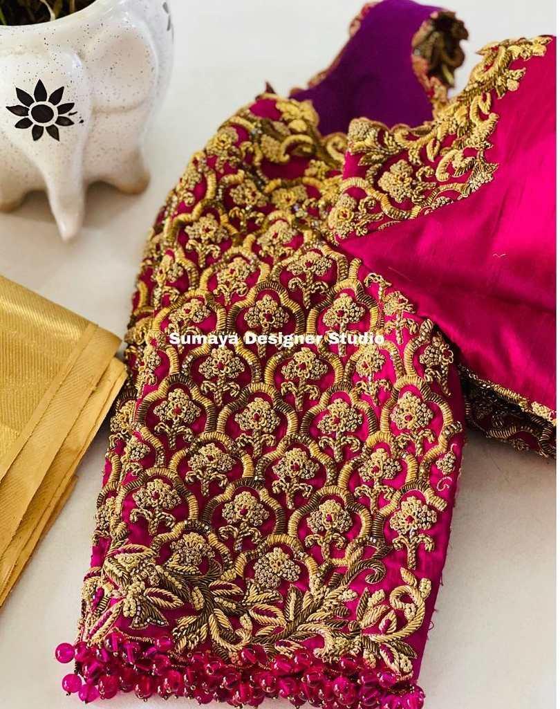 Sumaya Designer wedding blouses-4.1
