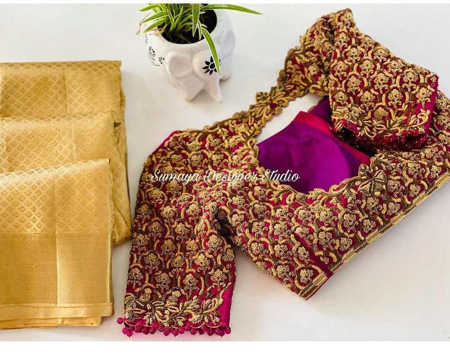Sumaya Designer wedding blouses-4