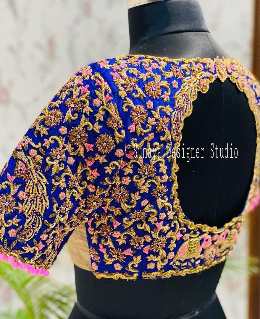 Sumaya Designer wedding blouses-5