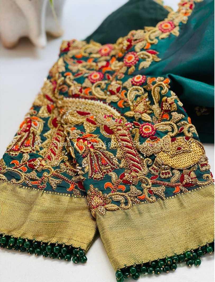 Sumaya Designer wedding blouses-6.1