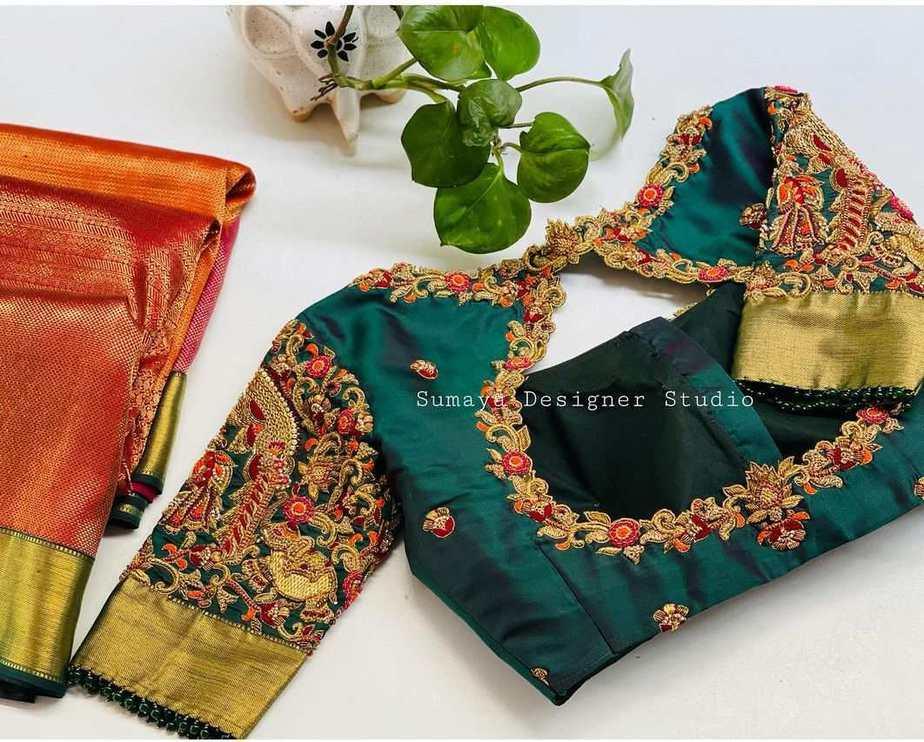 Sumaya Designer wedding blouses-6