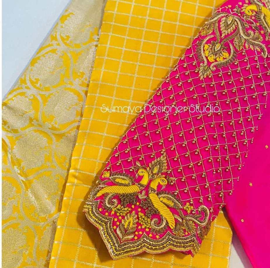 Sumaya Designer wedding blouses-7.1