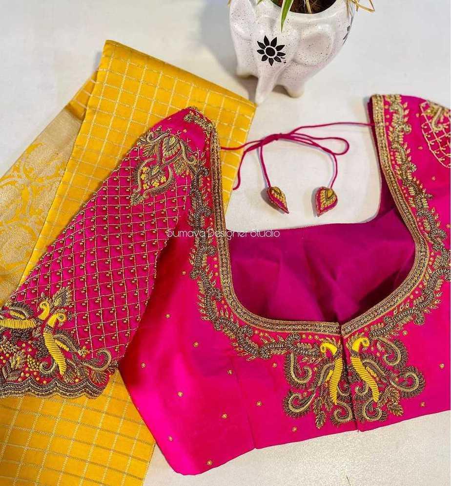 Sumaya Designer wedding blouses-7