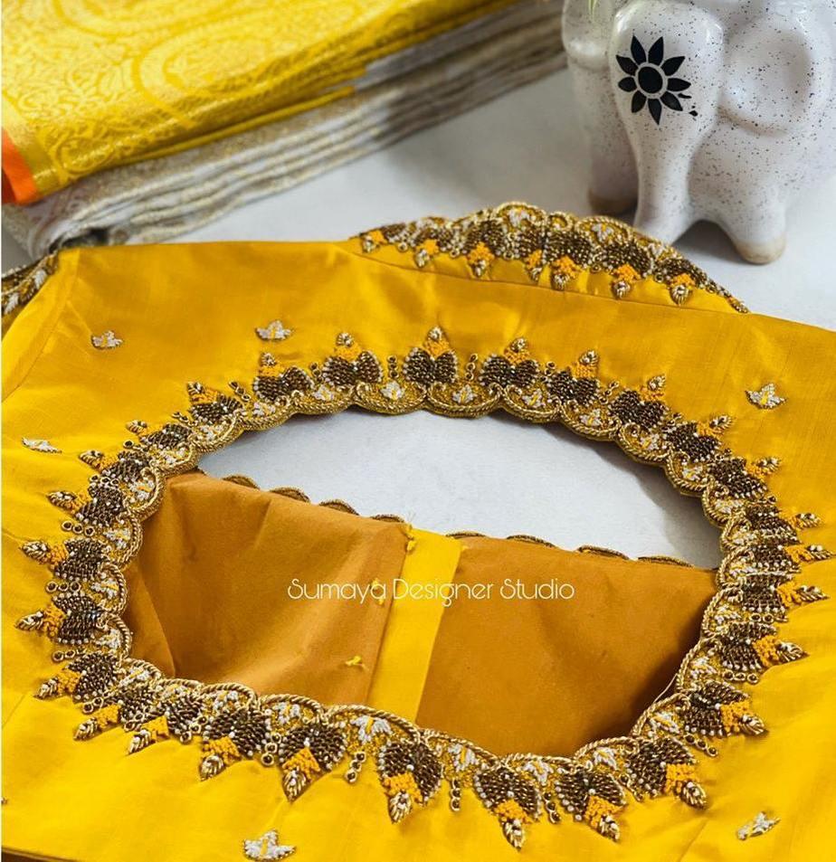 Sumaya Designer wedding blouses-8.1