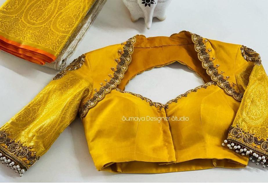 Sumaya Designer wedding blouses-8