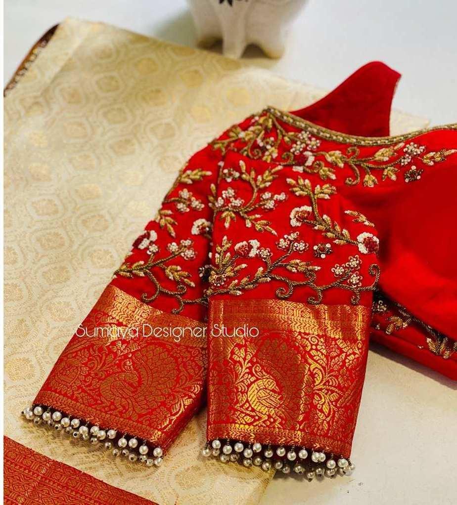 Sumaya Designer wedding blouses-9.1