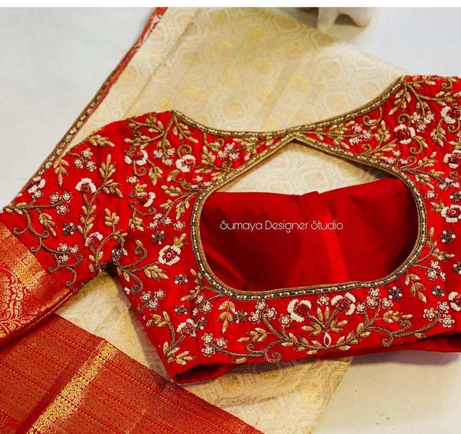 Sumaya Designer wedding blouses-9
