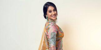 regina cassandra in yellow gharara set by aisha rao for wedding stories magazine shoot-3